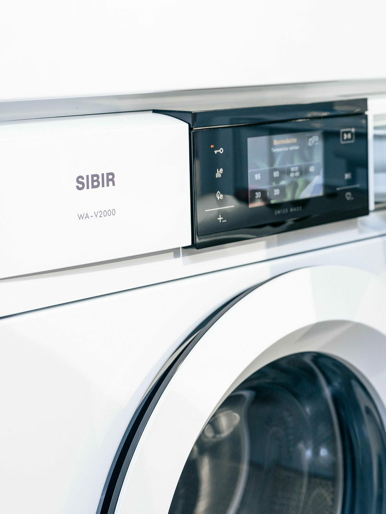 Waschmaschine Schublade web hoch